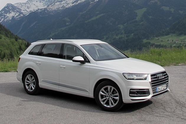 アウディ、省燃費仕様の「Q7 ウルトラ」を欧州で発表