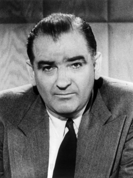 most successful drunks in history, joseph mccarthy