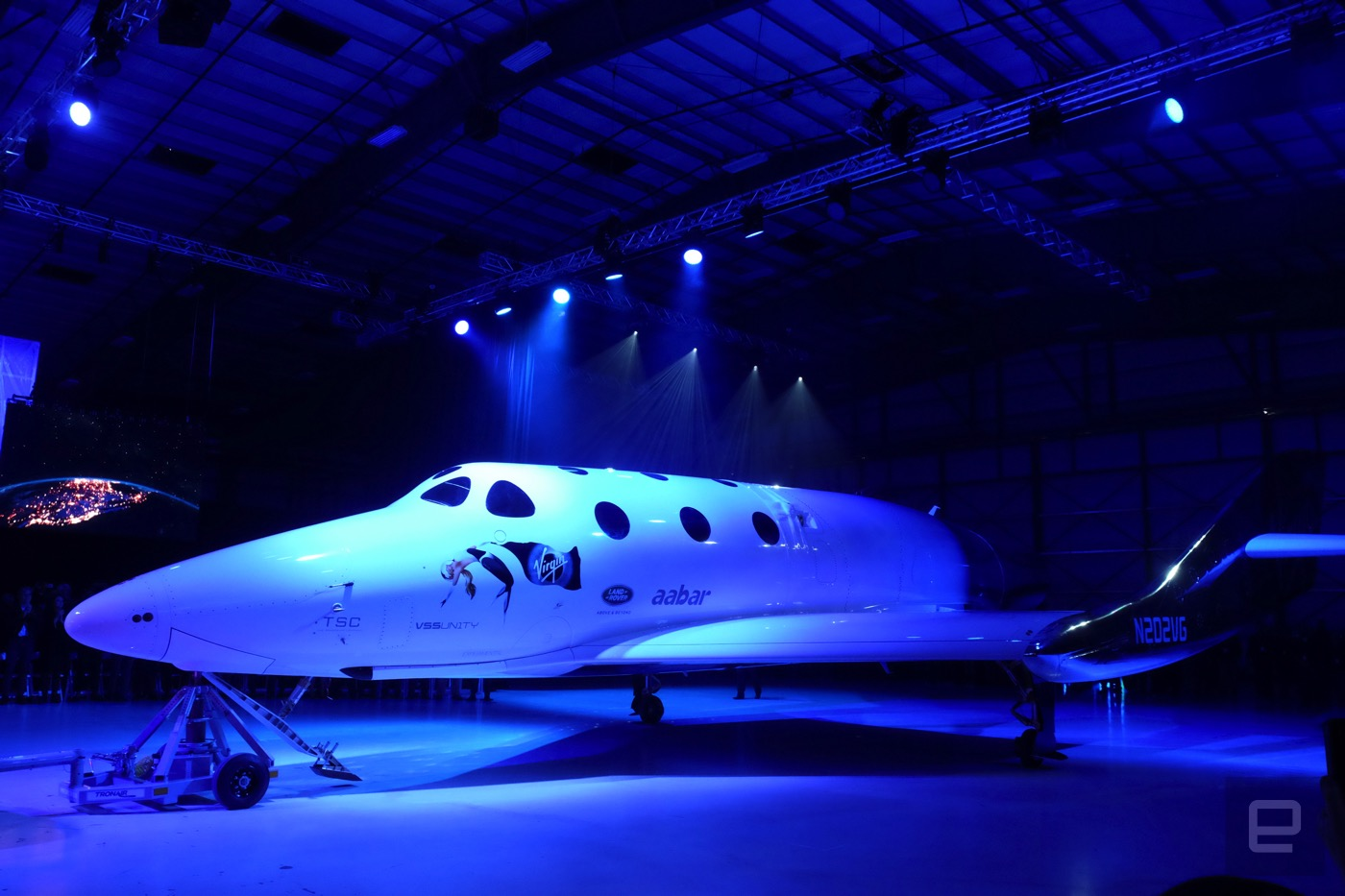 Virgin Galactic unveils the new SpaceShip Two