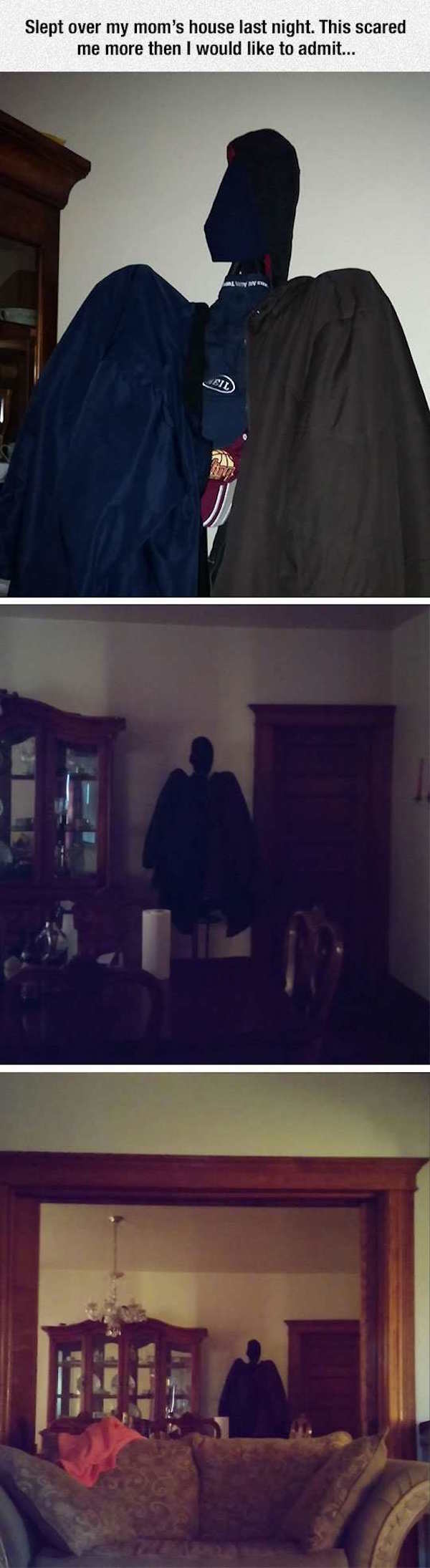 This Guy Caught A Ghost At His Mom's House