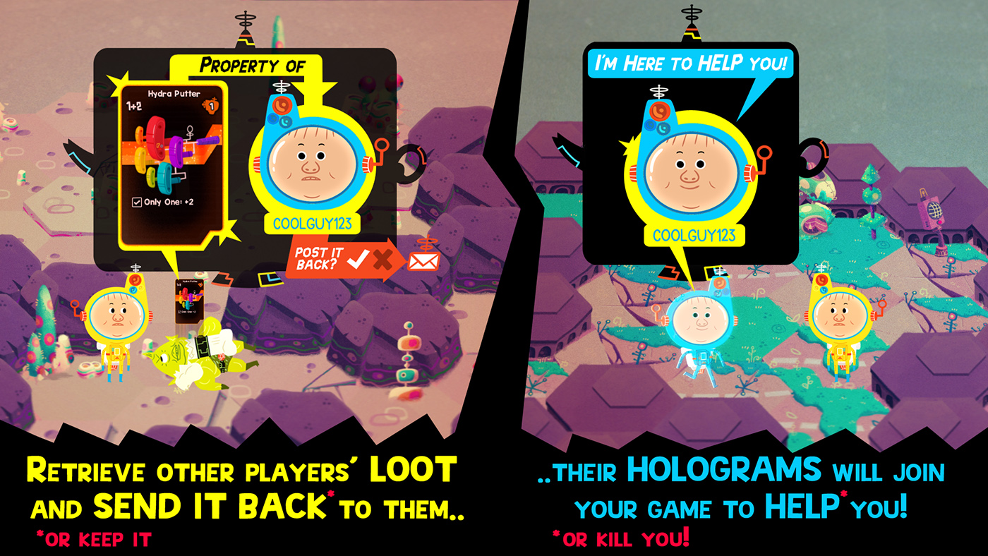 'Hohokum' developers make a roguelike full of loot and cute