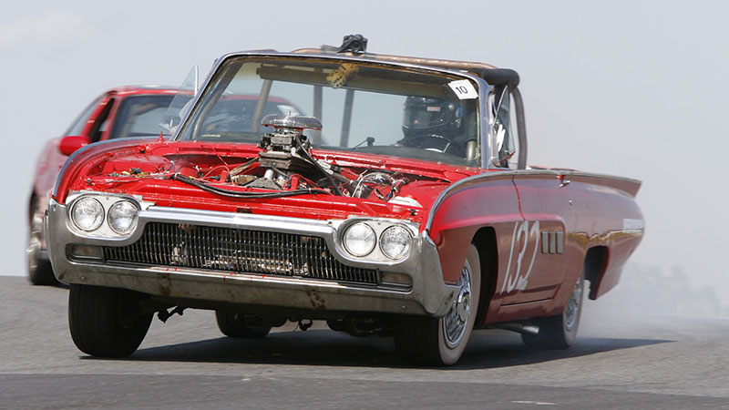 1963 Ford Thunderbird with BMW V12 engine swap