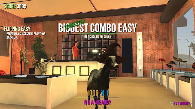 'Goat Simulator' is now ruining picnics and butting heads on iOS and Android