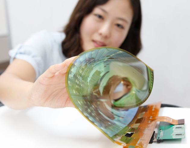 lg flexible display