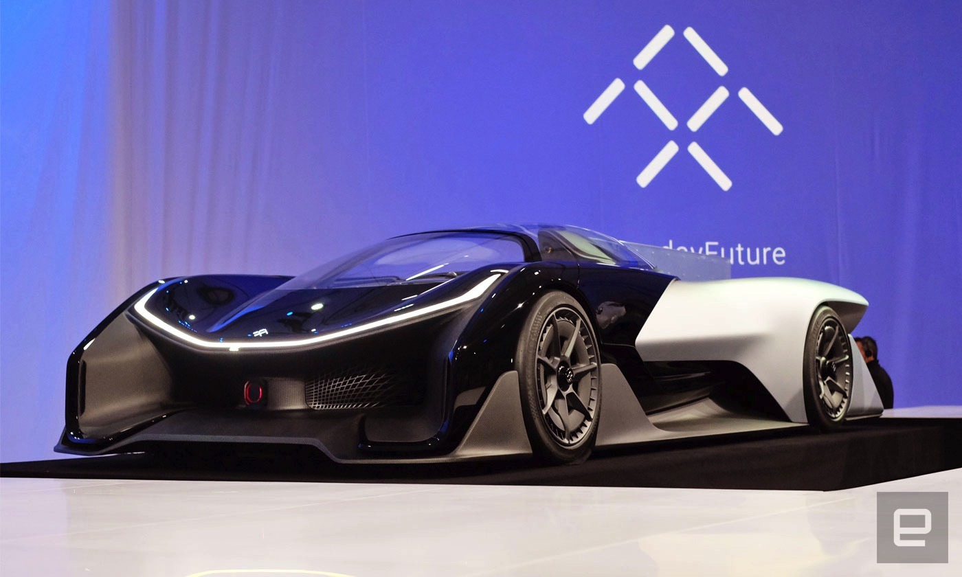 Faraday Future is already prepping for its second EV factory