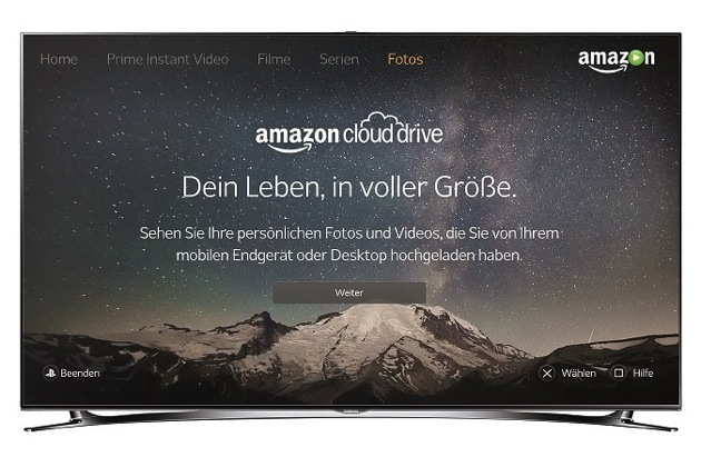 jetzt mit zugang zur eigenen wolke amazon instant video. Black Bedroom Furniture Sets. Home Design Ideas
