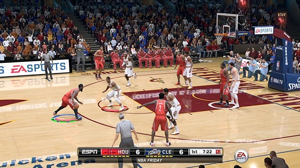 ea sports delays nba live 15 by three weeks. Black Bedroom Furniture Sets. Home Design Ideas