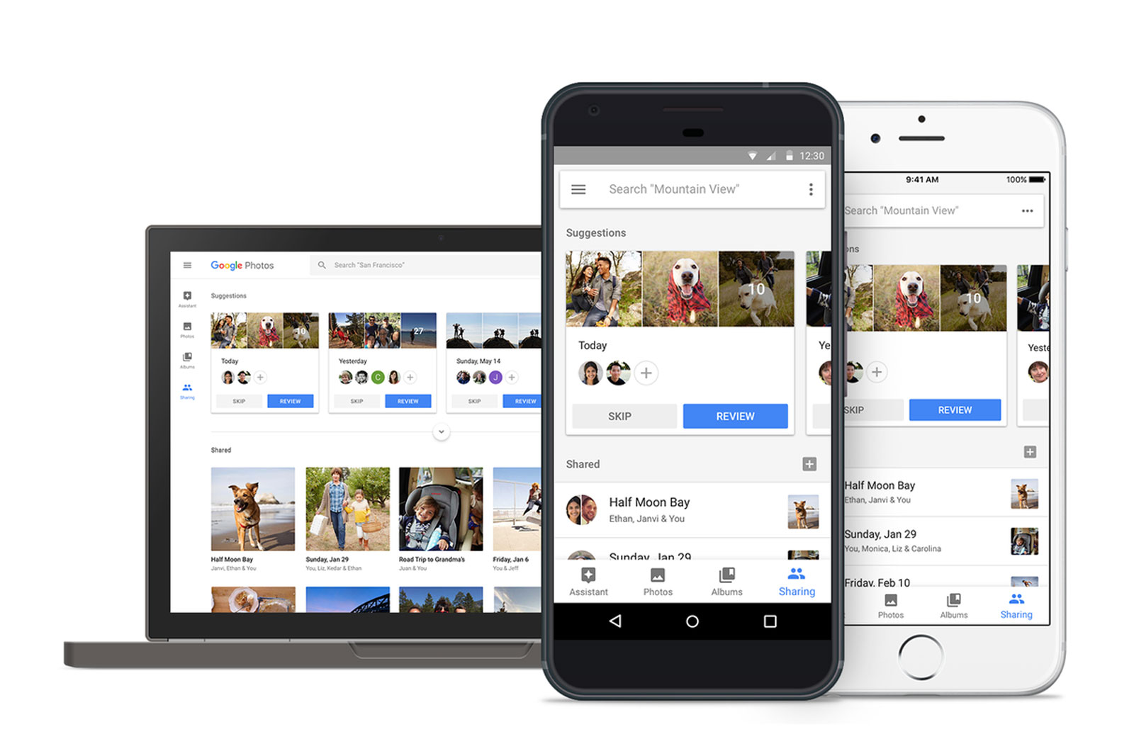 Google Photos' AI-powered sharing is now available