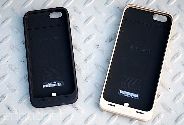 Mophie ya tiene sus carcasas con batería para los iPhone 6 y 6 Plus