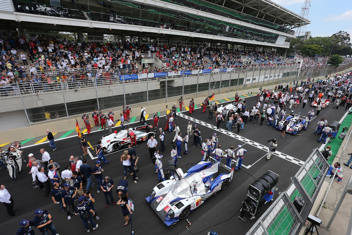 Toyota Hybrid RacingWorld Endurance Championship. 6 Hours of Brazil. 27th-30th November 2014. Sao Paulo, Brazil.