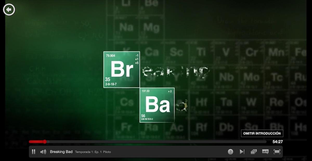 Netflix añade un nuevo botón para que te saltes las entradillas de las series