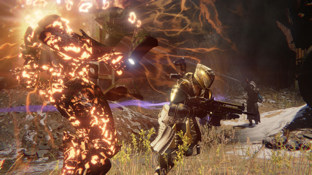 Some poor sap gets incinerated in Destiny