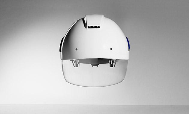 Baustelle wird stylish: Smarter Schutzhelm mit Augmented Reality