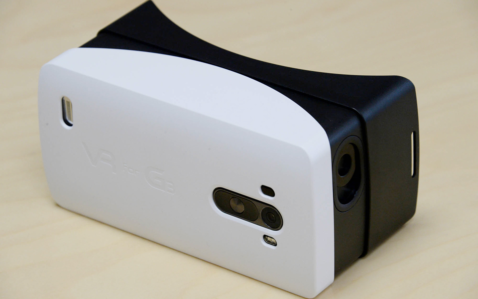 LG builds its own VR headset for the G3
