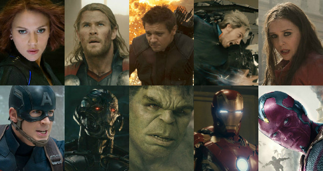 avengers age of ultron characters