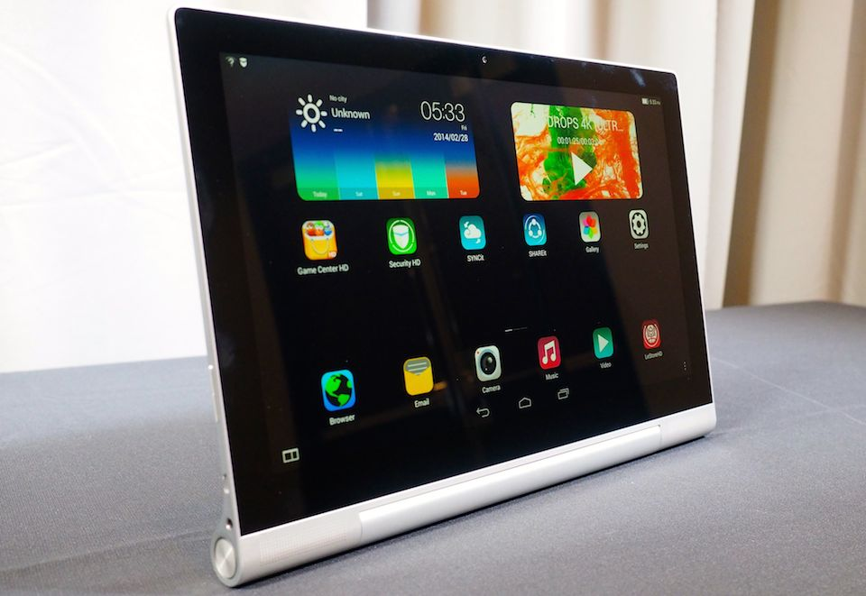 Lenovo's new 'Yoga' tablets run Android and Windows, one ...