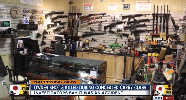 銃器店オーナーが発砲事故で死亡 銃の講習会で起きた悲劇に悲しみと動揺の声【動画】