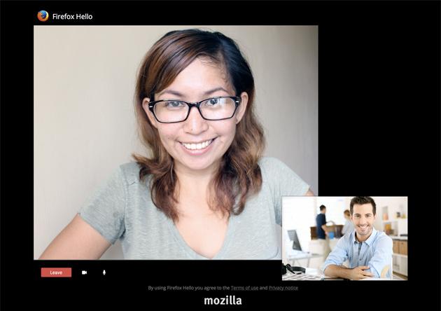 Firefox Hello te permite ahora compartir tus salas de chats