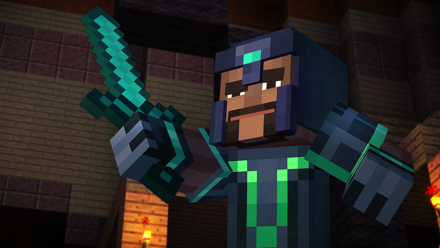 'Minecraft: Story Mode' comes to the Wii U on January 21st