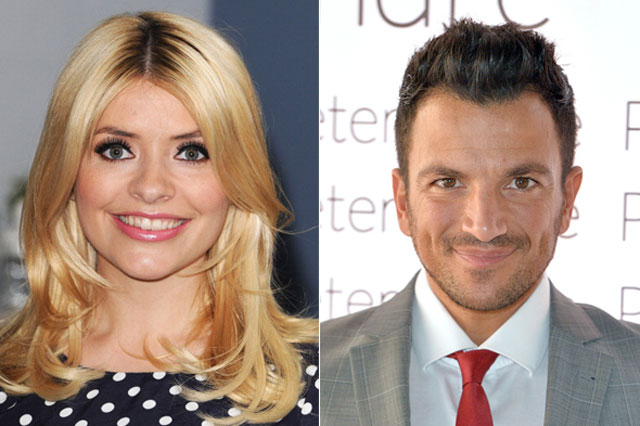 Holly Willoughby and Peter Andre voted favourite celeb mum and dad in Parentdish survey