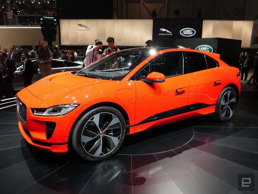 I-PACE: Der Elektro-SUV von Jaguar kann vorbestellt werden