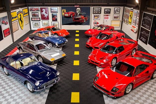 総額約15億円のフェラーリ・コレクションがオークションに