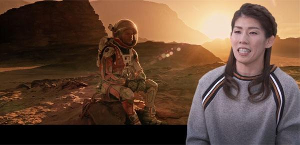 『オデッセイ』宣伝大使に「霊長類最強」吉田沙保里が就任!「火星にひとりぼっちなんて、私には絶対無理ですね」