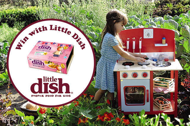 WIN a Carnaby Wooden Play Kitchen and Little Dish vouchers