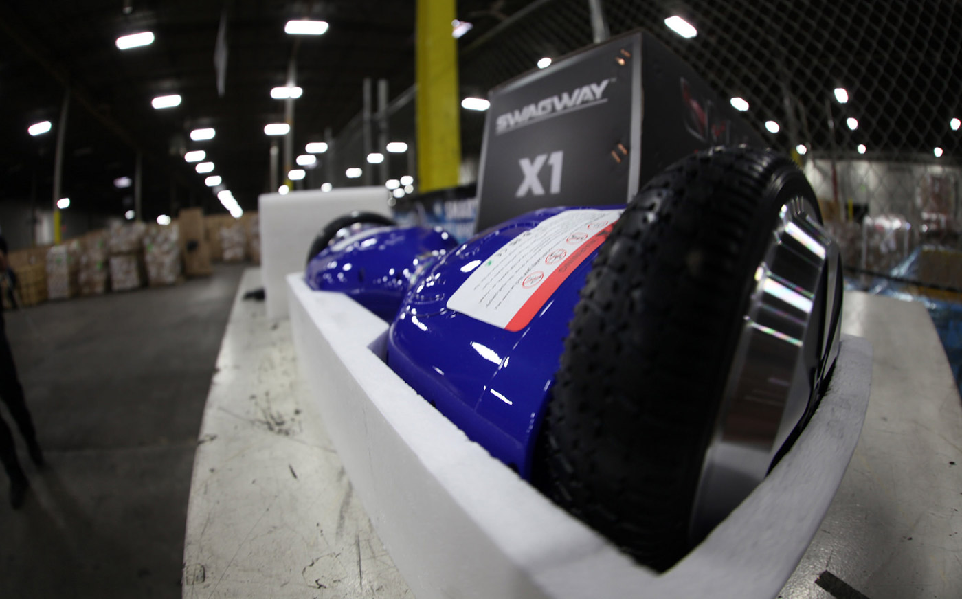 US Customs seize 16,000 counterfeit 'hoverboards'