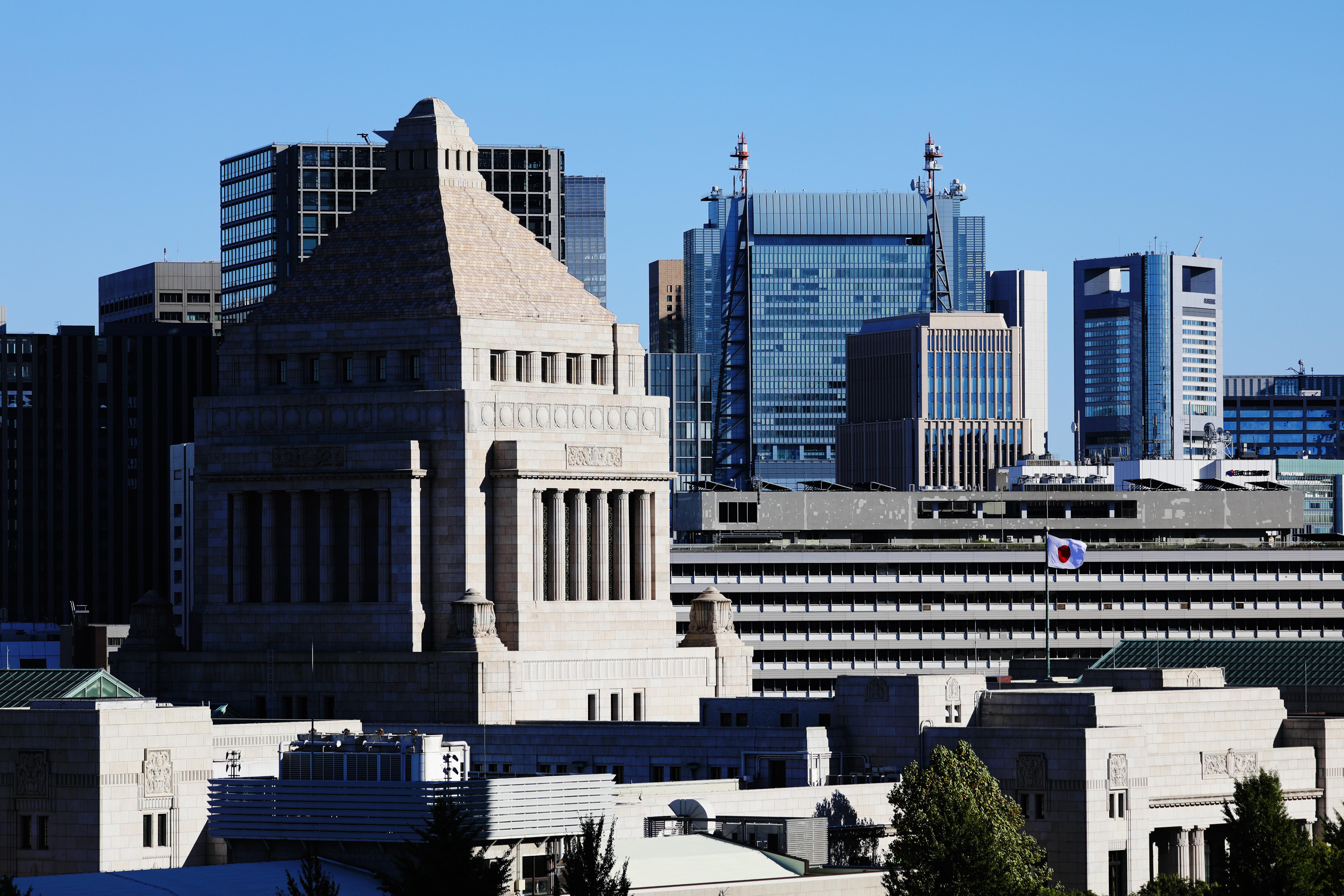 国会議事堂=東京都千代田区