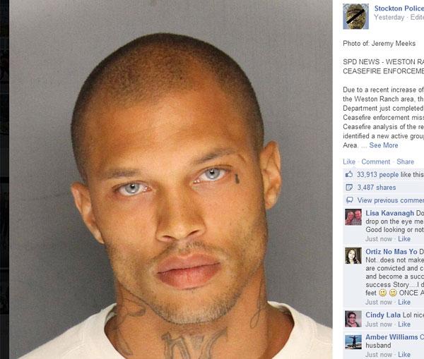 イケメンすぎる強盗犯がネット上で話題に Facebook「3万いいね!」超え