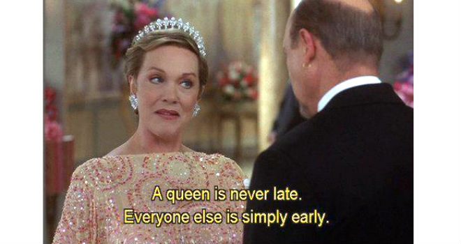 Julie Andrews in The Princess Diaries