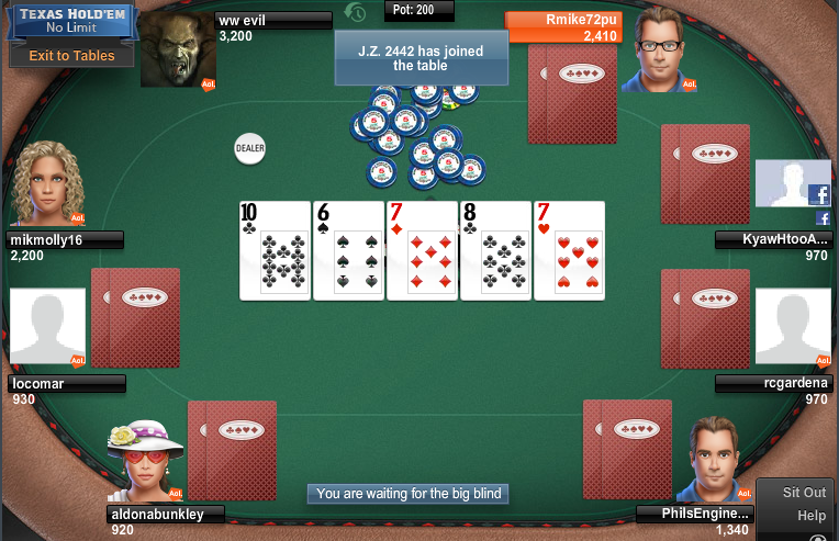 Aol poker games online