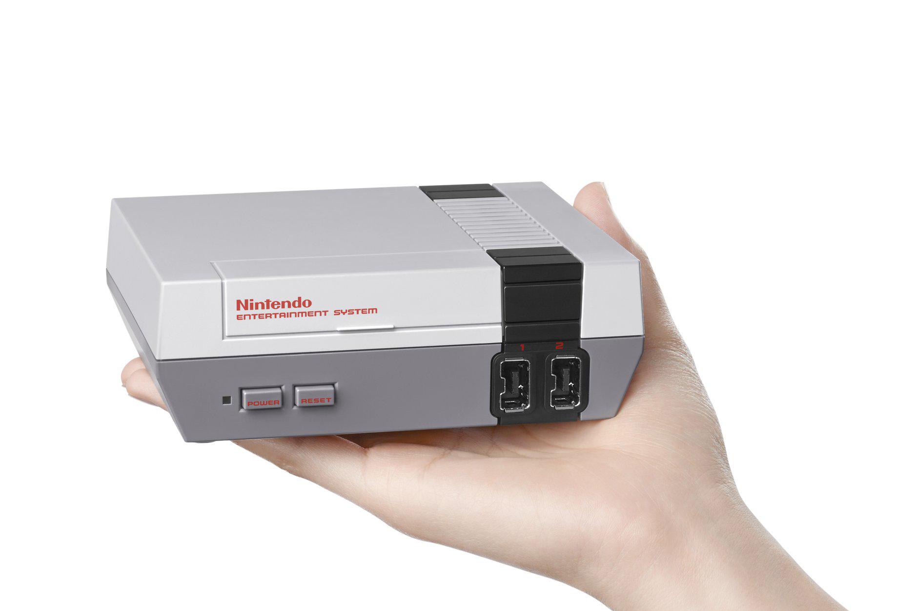 Nintendo sorprende con el lanzamiento de una mini NES