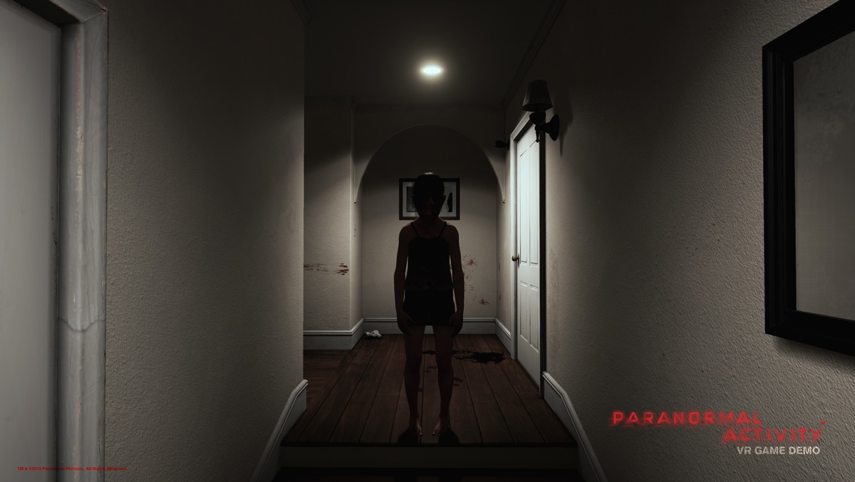 You can try out the Paranormal Activity VR game at some AMC theaters