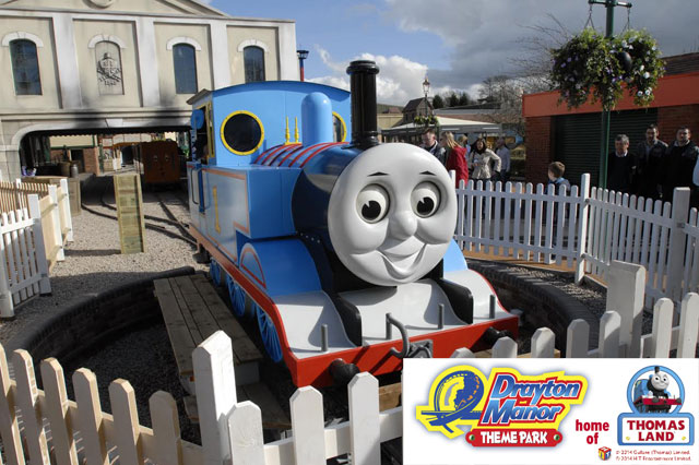 Win a family pass to Drayton Manor