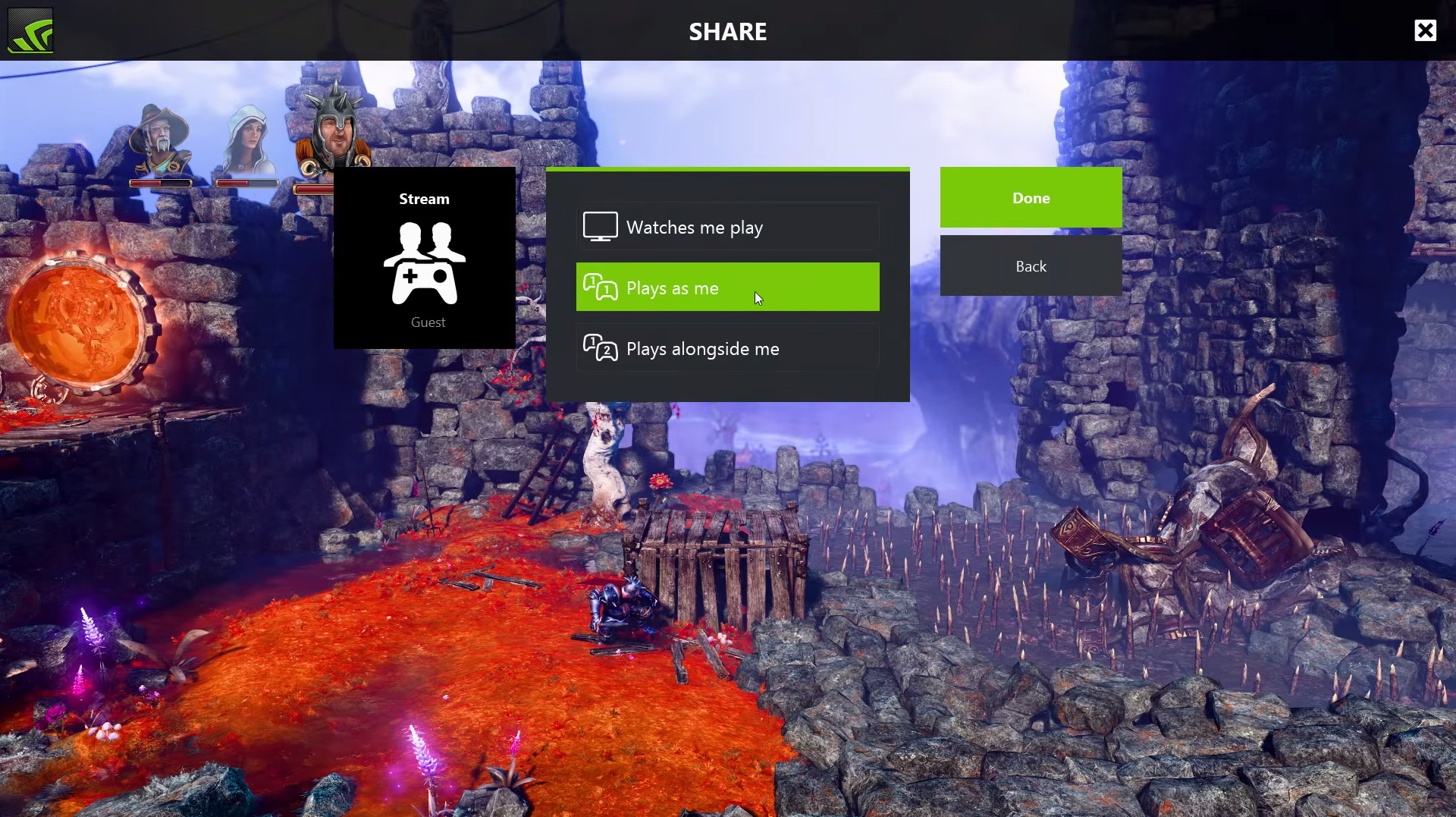 games, playstation, xgames, NVIDIA is testing online game sharing for GeForce Experience