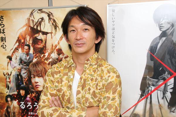 世界に誇るアクション監督、谷垣健治氏が語るVol.2「蒼紫と翁の死闘はフリーファイト(笑)」