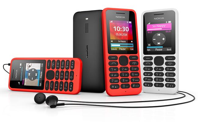 O Nokia 130 é a prova de que a Microsoft não desiste do celular básico