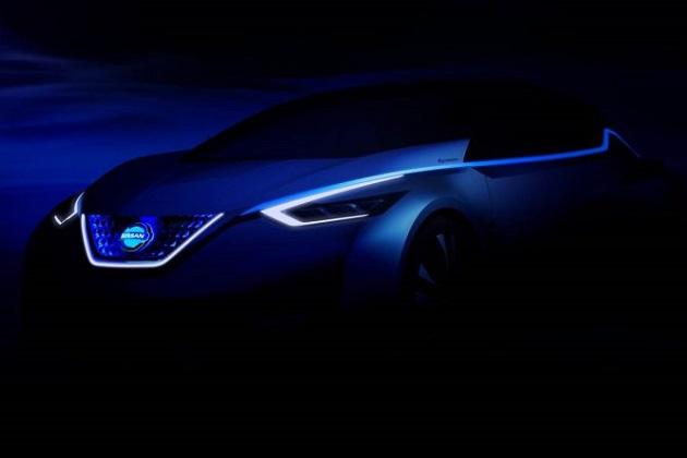日産が、東京モーターショーで世界初披露するコンセプトカーのティーザー画像を公開