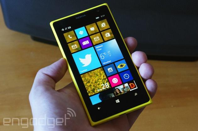 Nokia Lumia 1020 running Windows Phone 8.1