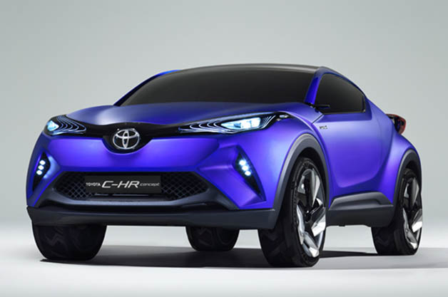 toyota c hr hybrid crossover coupe concept leak ahead of paris. Black Bedroom Furniture Sets. Home Design Ideas