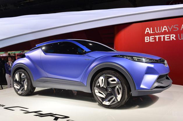 【ParisMotorShow2014】市販化を熱望! トヨタのHVクロスオーバー「C-HR」(ビデオ付)