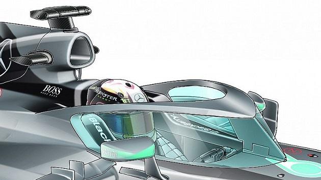 レッドブル、F1のコクピット防護システムとしてHalo(暈)型に代わるキャノピー型を提案