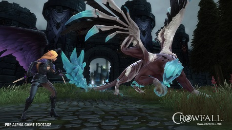 'Crowfall' introduces next character class, the Fae Assassin
