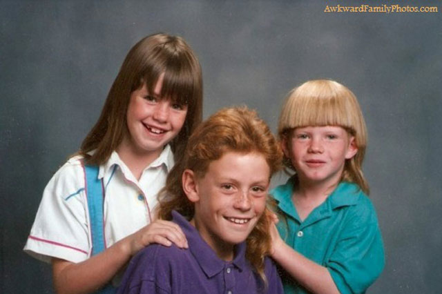 Awkward Family Photos that could only have been taken in the 80s