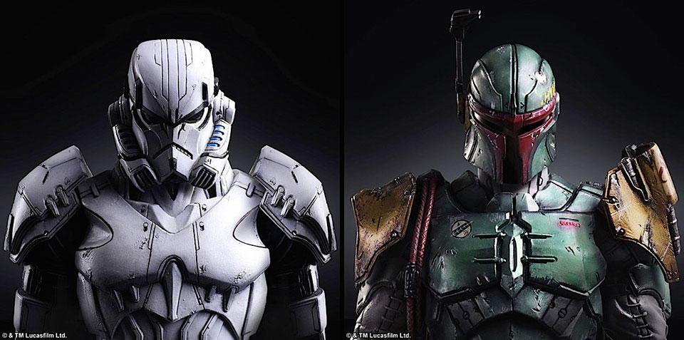 Star Wars villains get a moody re-imagining by Square Enix