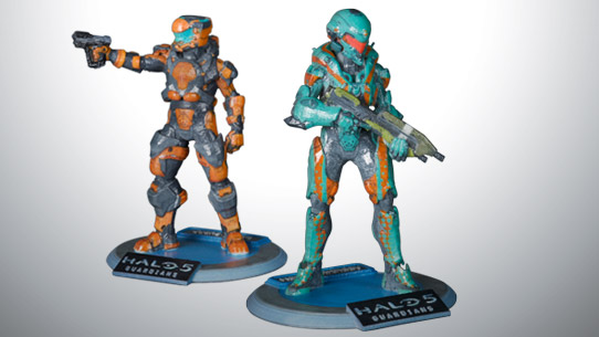 Make your 'Halo 5' Spartan into a 3D-printed trophy