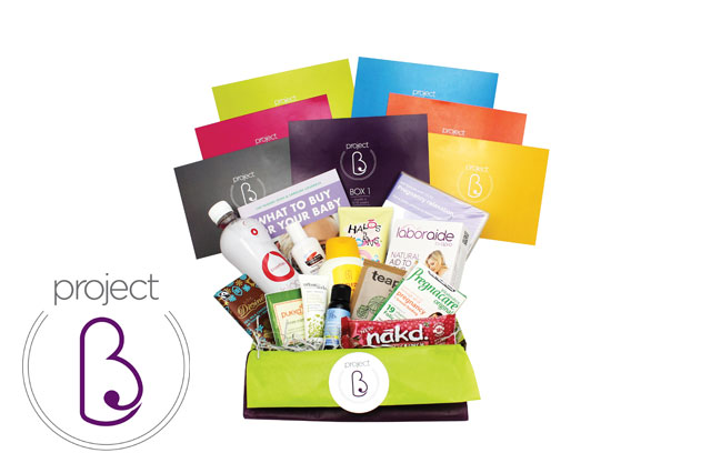 WIN a pregnancy wellbeing subscription box from Project B!