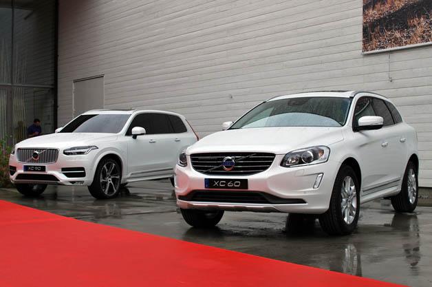 Volvo XC60 and XC90